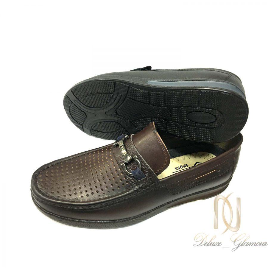 کفش مردانه تمام چرم طرح کالج sh n217 | کفش مردانه تمام چرم طرح کالج sh-n217