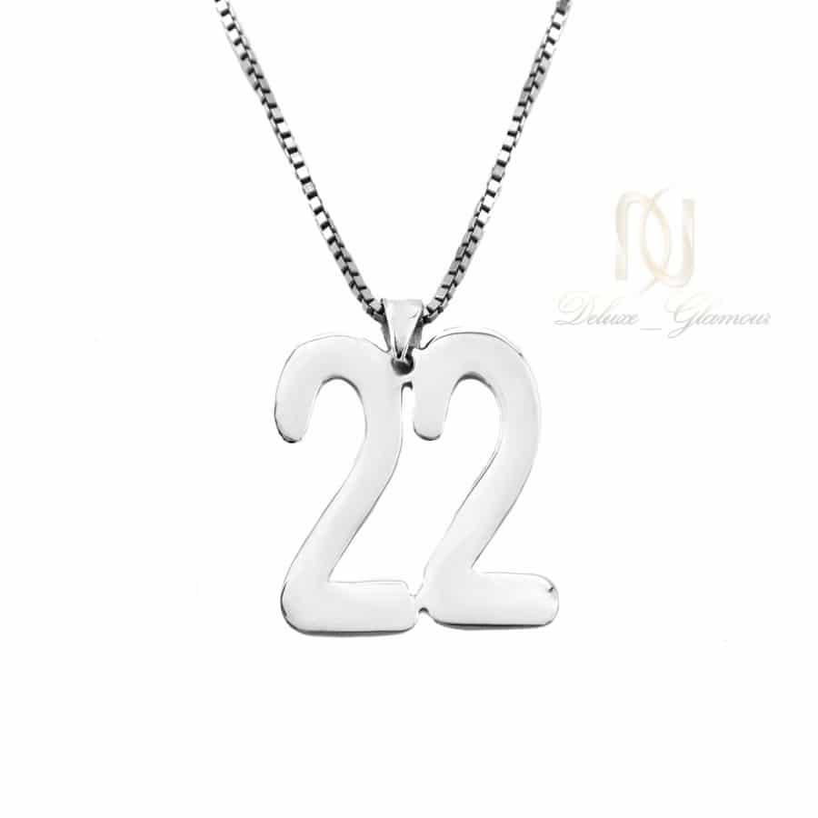DSC 1576   گردنبند نقره طرح شماره 22 لاتین nw-n744
