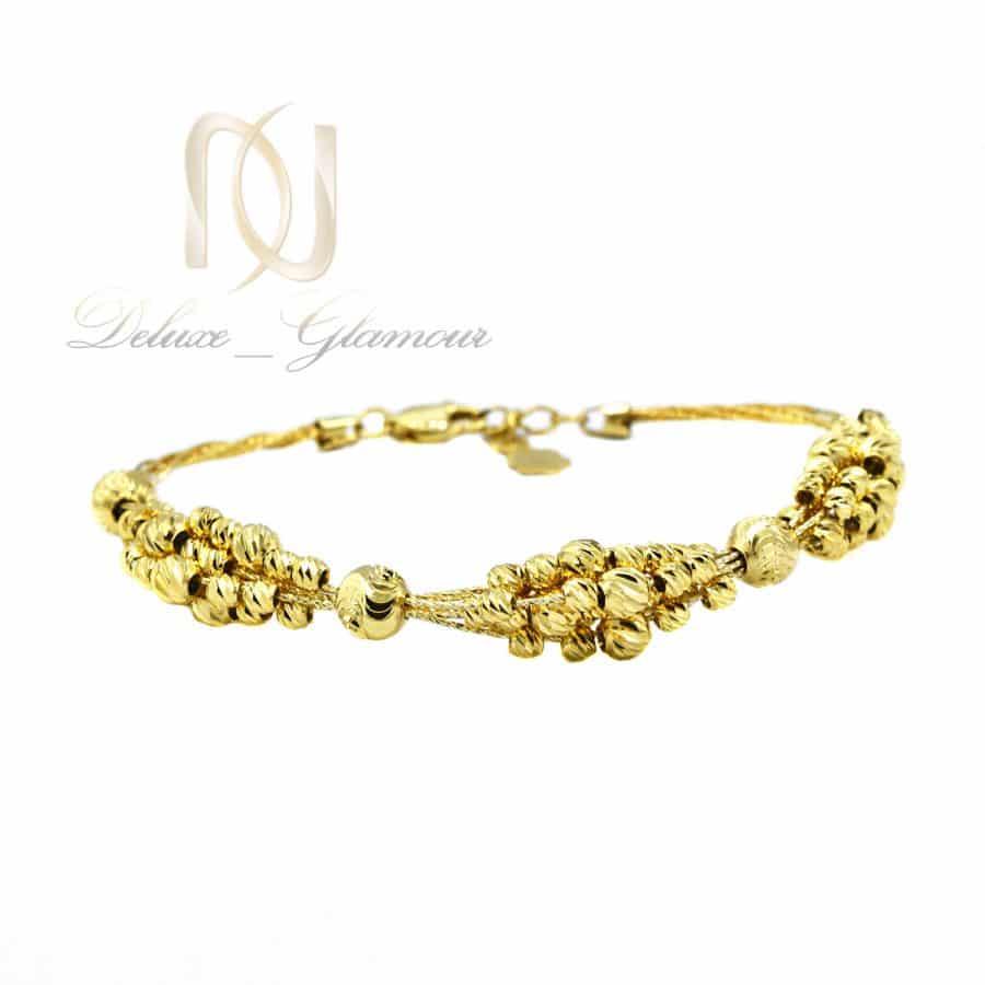 دستبند نقره آلبرنادو زنانه طلایی DS-N818