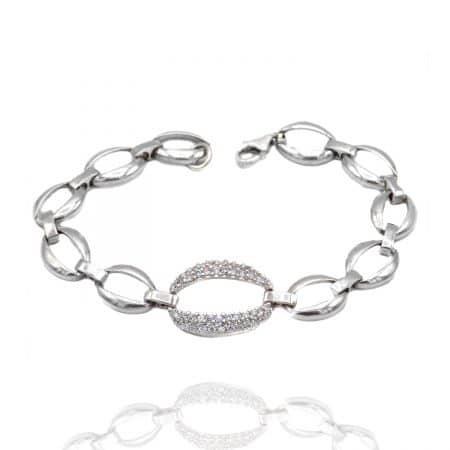دستبند کارتیر نقره خاص زنانه ma-n569