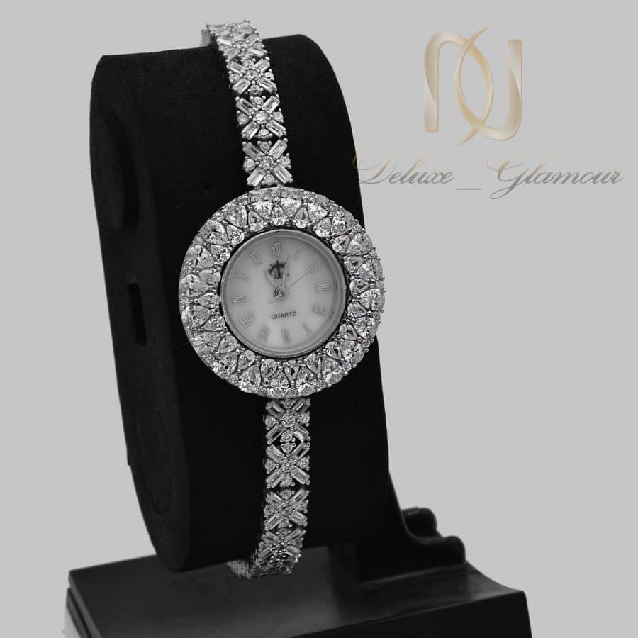 ساعت نقره زنانه جواهری خاص wh-n324
