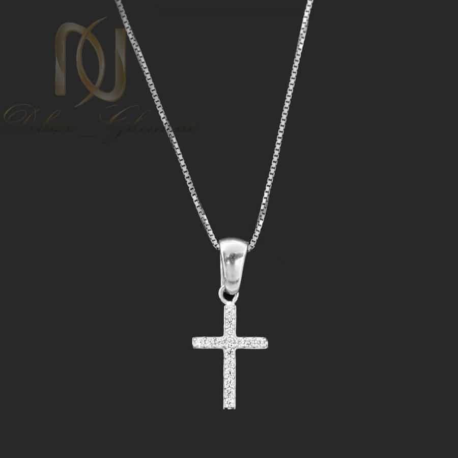 گردنبند دخترانه صلیب نقره 925 ترک nw-n773