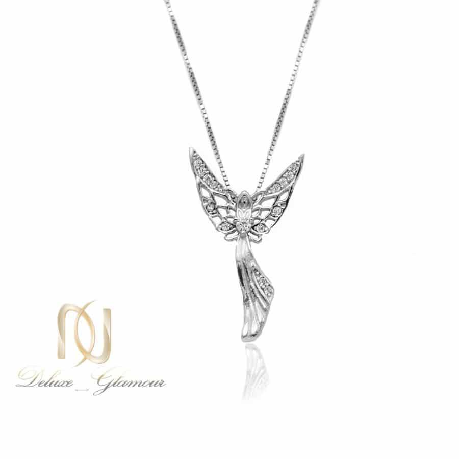 گردنبند نقره خاص طرح فرشته NW-N777