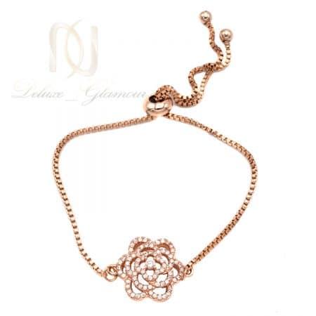 دستبند رزگلد دخترانه استیل درجه یک ds-n826