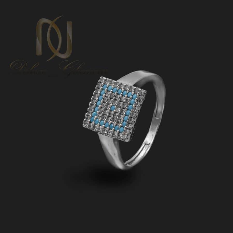انگشتر زنانه نقره 925 روکش رودیوم rg-n714