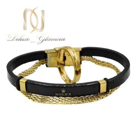 ست مردانه دستبند و انگشتر خاص ns-n811