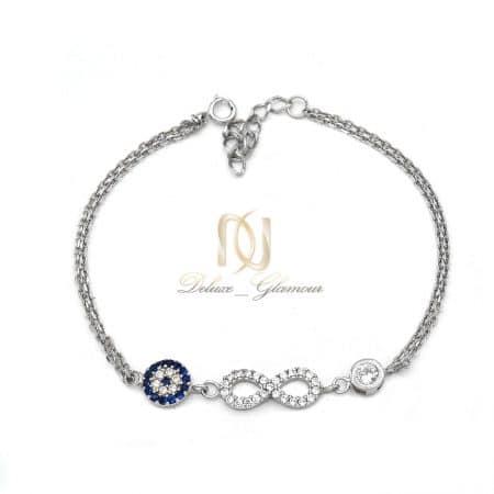 دستبند دخترانه فانتزی طرح بی نهایت ds-n836