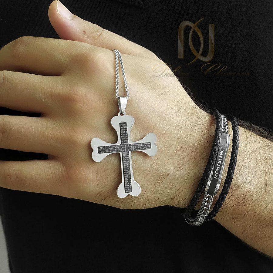 ست دستبند و گردنبند مردانه اسپرت ns-n821