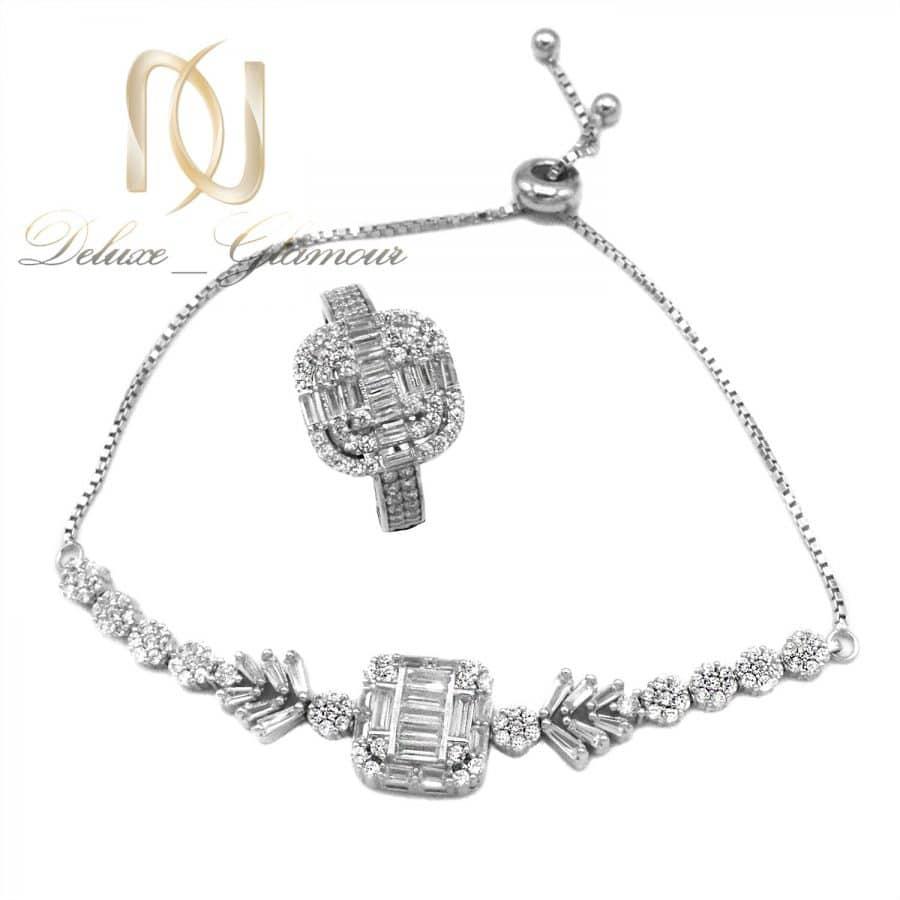 DSC 1451 | ست دستبند و انگشتر زنانه نقره اصل ns-n813