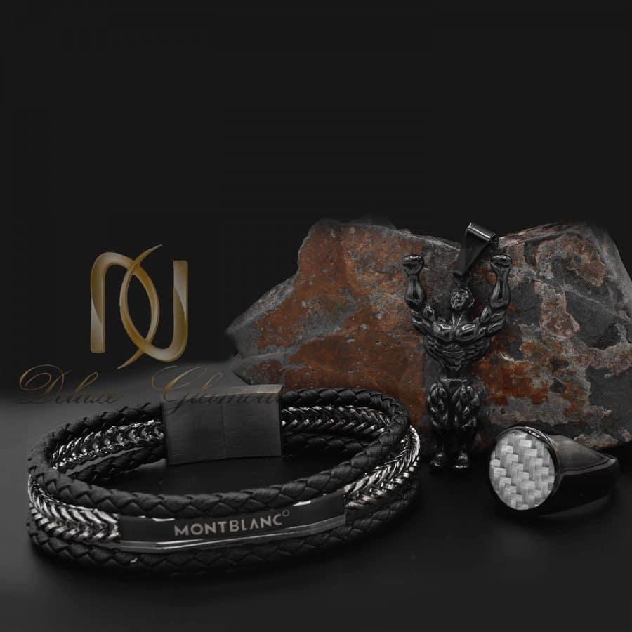 ست دستبند، گردنبند و انگشتر پسرانه ns-n836