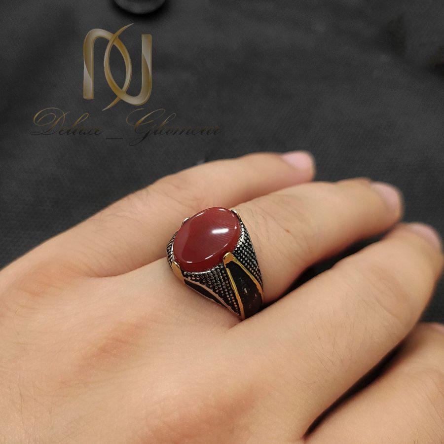 انگشتر مردانه استیل طرح خاص rg-n734