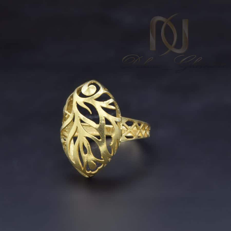 انگشتر نقره عیار 925 1   انگشتر نقره زنانه طرح طلا شیک rg-n732