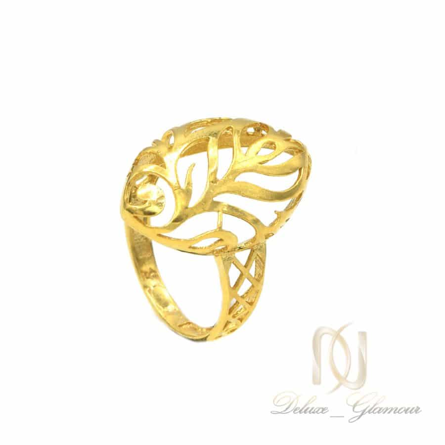 انگشتر نقره عیار 925 2   انگشتر نقره زنانه طرح طلا شیک rg-n732