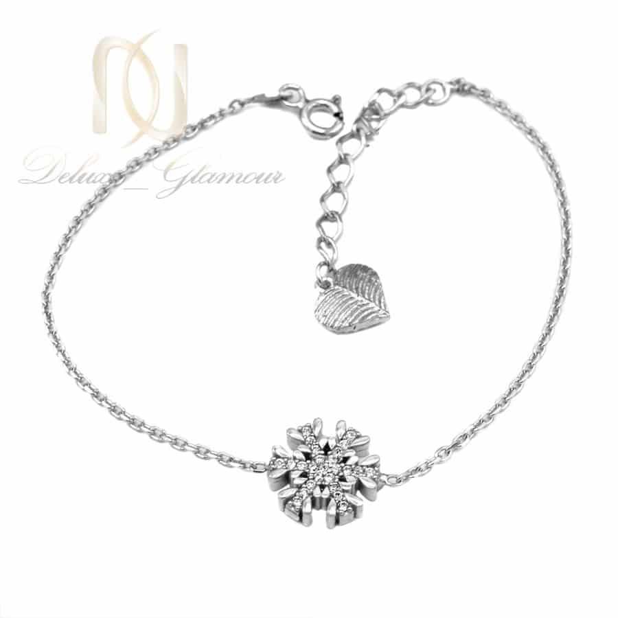 دستبند دخترانه نقره اصل طرح دونه برف ds-n852