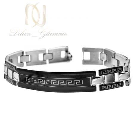 دستبند مردانه ورساچه استیل درجه یک ds-n854