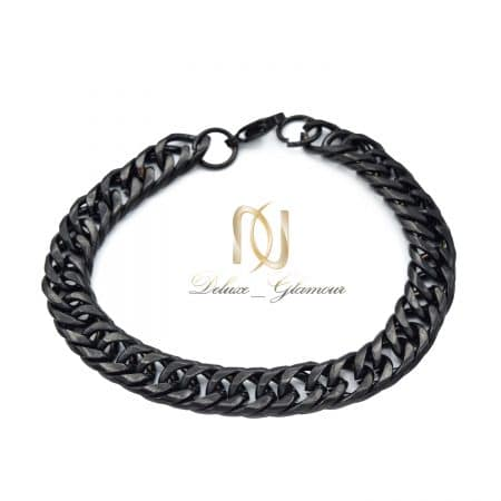 دستبند مردانه کارتیر استیل مشکی ds-n862