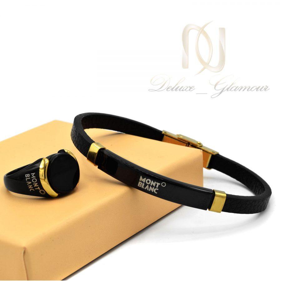 ست دستبند و انگشتر 1   ست دستبند و انگشتر مونت بلانک ns-n849