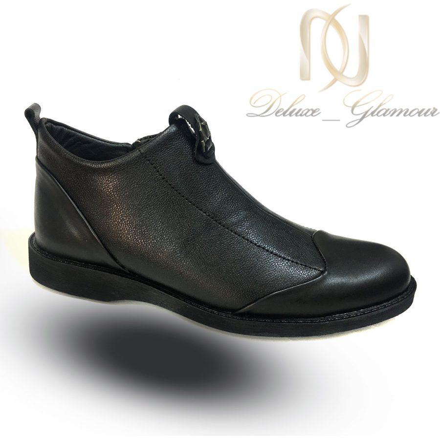 کفش نیم بوت مردانه چرم اصل sh n247   کفش نیم بوت مردانه چرم اصل sh-n247