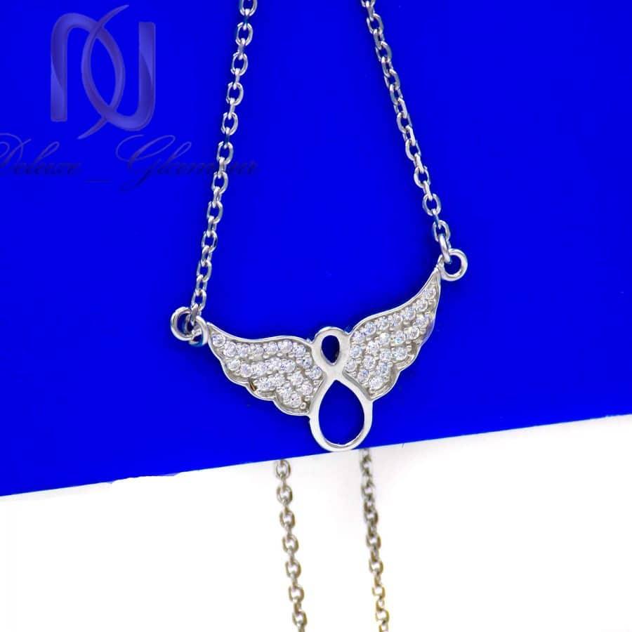 گردنبند نقره دخترانه طرح بی نهایت ma n591 3 | گردنبند نقره دخترانه طرح بی نهایت ma-n591