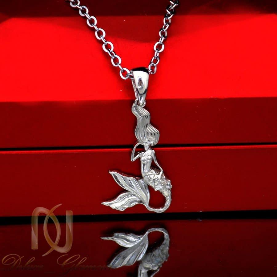 گردنبند پری دریایی نقره اصل دخترانه ma n592 2 | گردنبند پری دریایی نقره اصل دخترانه ma-n592