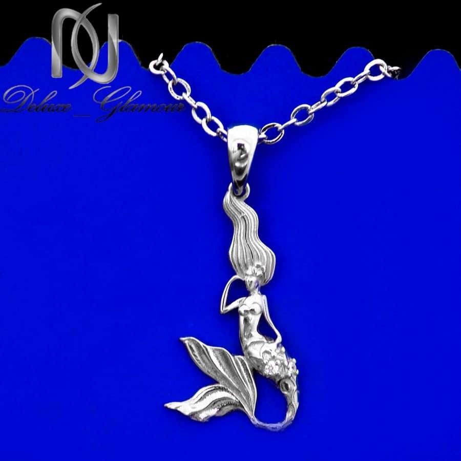 گردنبند پری دریایی نقره اصل دخترانه ma n592 3 | گردنبند پری دریایی نقره اصل دخترانه ma-n592
