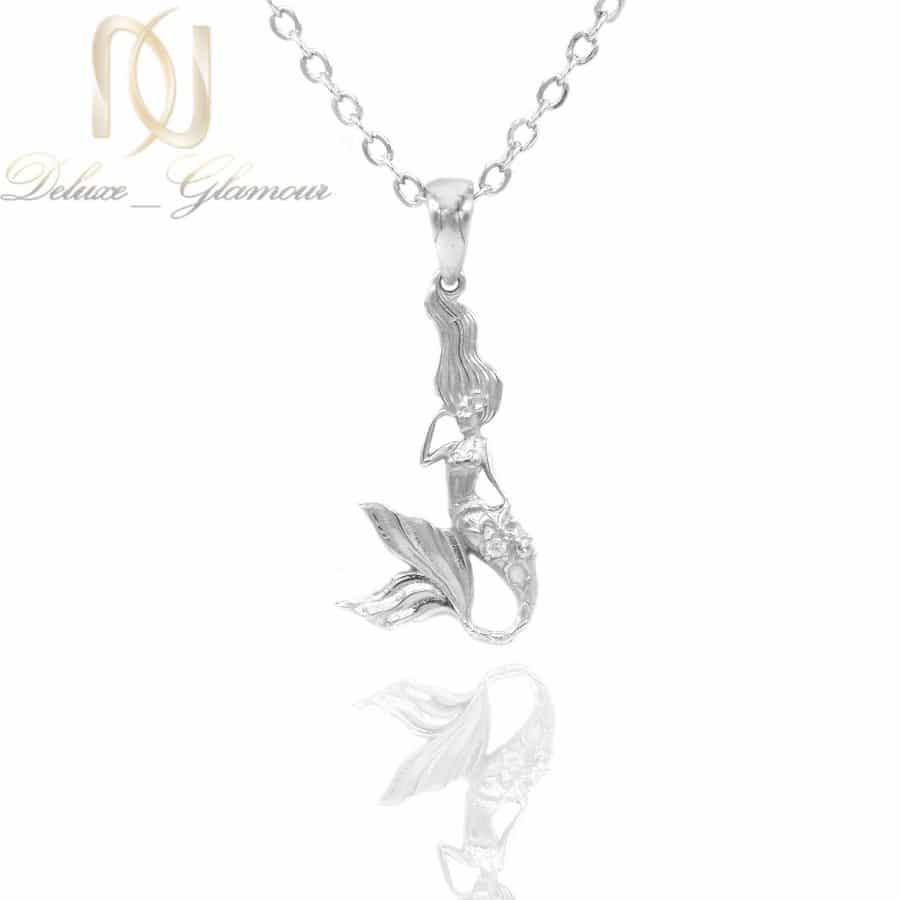 گردنبند پری دریایی نقره اصل دخترانه ma n592 | گردنبند پری دریایی نقره اصل دخترانه ma-n592